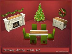 The Holidays will be here soon.....  Found in TSR Category 'Sims 4 Sets'