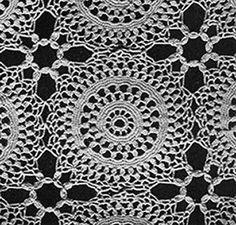 Will o' the Wisp Tablecloth Pattern #7147 Free crochet pattern