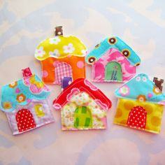 little houses by Laurie Star, via Flickr