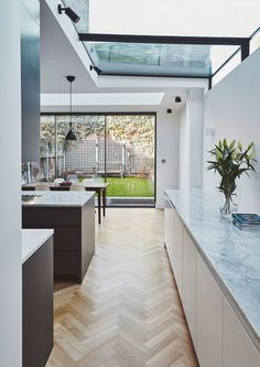 Visit the post for more. Kitchen Dinning Room, House Extensions, Skylight, Home Remodeling, New Homes, House Design, Interior Design, Fulham, Side Return