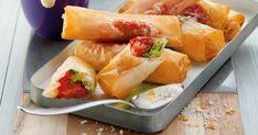Die selbst gemachten Frühlingsrollen aus dem Ofen sind unglaublich gut. Die knusprigen Röllchen werden mit kurz vorgegartem Gemüse gefüllt. Dazu empfehlen wir einen Wasabi-Dip. Diese Asia-Mayo sorgt für die richtige exotische Schärfe.