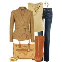 A fashion look from January 2013 featuring Moschino Cheap & Chic tops, Gucci jeans and MICHAEL Michael Kors boots. Browse and shop related looks.