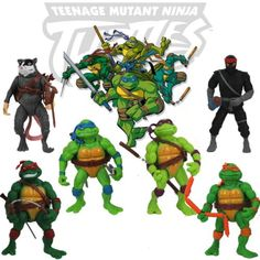 6pcs/lot #teenage mutant ninja turtles action #figures kids #classic collection w,  View more on the LINK: 	http://www.zeppy.io/product/gb/2/311428053756/