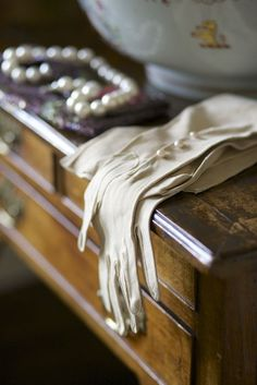 Accessories in the Hall at Hatch House. Photograph Jake Eastham.