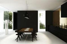 modern formal dining room - Google Search