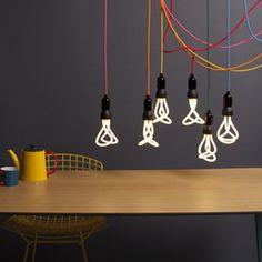 Plumen 001 Light Bulb | This sculptural bulb is the first designer low energy light bulb.
