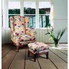 Sillón Orejero Clásico Brindisi #Ambar #Muebles #Deco #Interiorismo #Tapizados | http://www.ambar-muebles.com/sillon-orejero-clasico-brindisi.html
