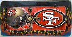 1 , 49ERS Quartz Clock, on a, 'SAN FRANCISCO, 49ERS,', Metal Sign, on a, Metal, Flaming, Border,,29B5.0&29B2.4,,,SHIPPED USPS,,,,,,,,, ASTRODEALS,http://www.amazon.com/dp/B00IJFKCQA/ref=cm_sw_r_pi_dp_QBNdtb0PZA3B7YHT