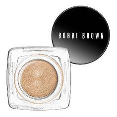 Bobbi Brown Long-Wear Cream Shadow in Sandy Gold - pale golden beige #sephora