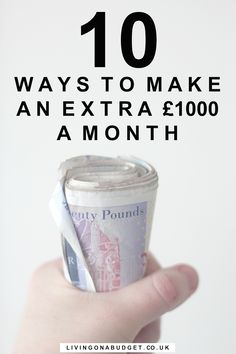 how to make 1000 a month