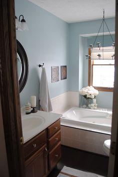 61 Ideas Bathroom Paint Colors Valspar To Get For 2019 Taupe Bathroom, Master Bathroom Vanity, White Bathroom Decor, Bathroom Paint Colors, Bathroom Ideas, Paint Colours, Bathroom Remodeling, Bronze Bathroom, Bathroom Mirrors