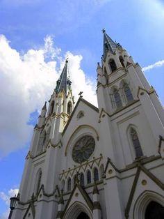 Saint John the Baptist Cathedral in Savannah Ga.