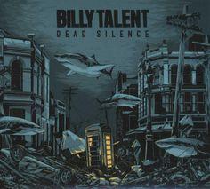 album cover art: billy talent - dead silence [2012]