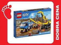 Kup teraz na allegro.pl za 179,90 zł - SKLEP  KLOCKI LEGO CITY 60075 KOPARKA I CIĘŻARÓWKA (5861529586). Allegro.pl - Radość zakupów i bezpieczeństwo dzięki Programowi Ochrony Kupujących!