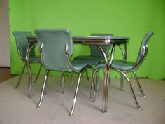 Tavolo formica ~ Vintage s chrome and formica diner table tables vintage