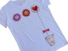 Camiseta una maceta de amor..., Ropa, Camisetas, Fechas señaladas, Día de la madre