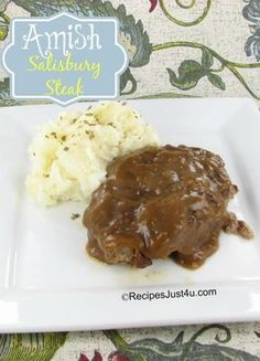 Amish Salisbury Steak - wholesome and hearty recipe