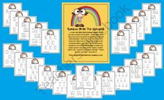 Rainbow Write the Alphabet from Incredible K Kids on TeachersNotebook.com (79 pages)  - Rainbow Write The Alphabet  A super easy Word Work/Literacy Station to help you walk through the alphabet.  These pages are all ready to go and this packet will get you through the whole alphabet!!  Just print them off and the only thing you'll need to do