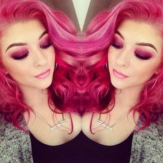 I want this color! But I'm not brave enough