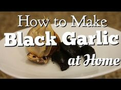 In this video, I'm going to share with you how to make black garlic at home. According to Aomori Prefecture Black Garlic Association, black garlic has antiba...