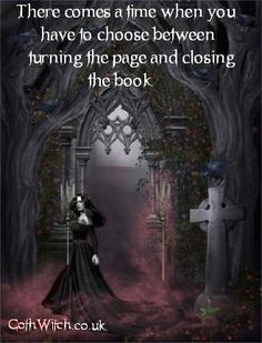 Quotes by GothWitch - Picture quotes about Gothic, Magic,    Love and Life