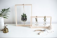 2 DIY para hacerte unos MINIMACETEROS decorativos