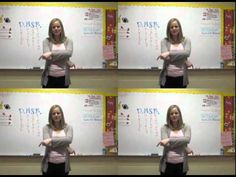 "Teach me how to do math ""dougie"" video for long division - cutest teacher EVER!"