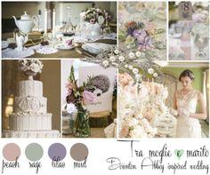 {Inspiration Board}A DOWNTON ABBEY INSPIRED WEDDING