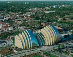 The new Kauffman Center for Performing Arts in Kansas City. Grand opening was Sept. 16 I can't wait to see a performance there! Cultural, Architect Design, Amazing Architecture, Kansas City, Performing Arts, Gallery, Grand Opening, Music, Opera