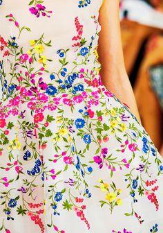 "fashion-runways: "" Oscar de la Renta New York Spring 2015 - Details """