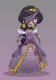The Mummy Jasmine by NoFlutter
