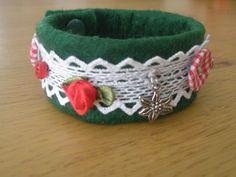 Trachtenschmuck - Trachtenarmband *Unikat* - ein Designerstück von Pflederl bei DaWanda