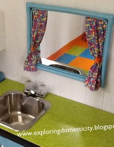 Mirror Window for the Playhouse