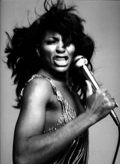 Tina Turner, very amazing(: