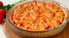 Простой открытый мясной пирог с картофельным тестом - это настоящая находка для тех, кто любит быстрые и простые рецепты и не перестает удивлять родных вкусными блюдами.