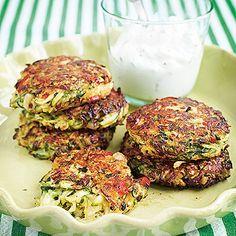 Bild på Zucchinibiffar med parmesan