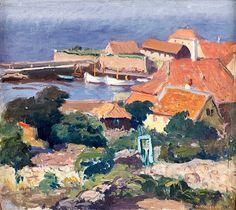 OSCAR HULLGREN (1869-1948)/ Christiansö