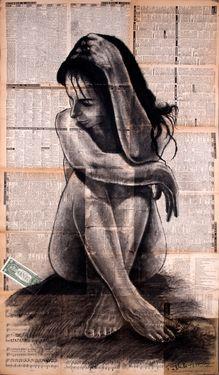 """Saatchi Online Artist Atelier Palluch; Drawing, """"one dollar"""""""