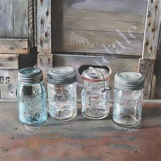 Cori Lee Marvin | WATERCOLOR | Preserved Light