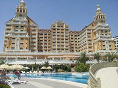 Royal holiday palace, lara beach, turkey - love it! Tenerife, Slimming World, Palace, Dubai, Multi Story Building, Hotels, Turkey, Spaces, Holidays