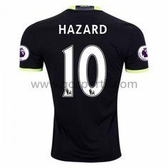 maillot de foot Premier League Chelsea 2016-17 Hazard 10 maillot extérieur