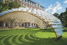 Grid Shell in the Park - The Architect's Newspaper
