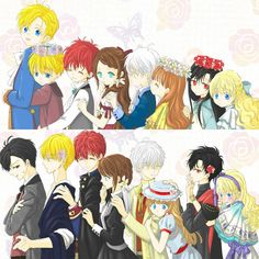 Chibi Anime, Chica Anime Manga, Kawaii Anime, Anime Couples Drawings, Anime Couples Manga, Manhwa, Cute Anime Coupes, Romantic Manga, Anime Art Fantasy