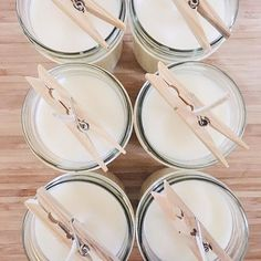 BLACKETT & CO. Fresh batch of natural soy candles.
