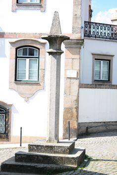 o pelourinho de Canas de Senhorim, Portugal