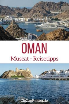 Muscat Oman – Sehenswürdigkeiten + Reisetipps (mit Bilder) Oman Travel Tips – Visit the capital Muscat – Places to visit and tips Amazing Destinations, Travel Destinations, Travel Tips, Vacation Places, Dream Vacations, Oman Tourism, Oman Travel, Muscat, Cruises