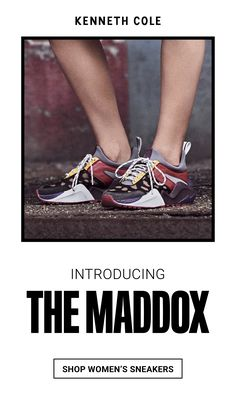 e55f8eebd Introducing The Kenneth Cole Maddox — our answer to the chunky sneaker  trend. Comfort and