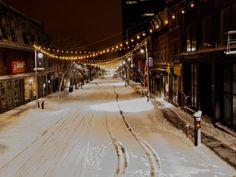 Saint Lauent Boulevard Montreal Saint Laurent, Montreal, Attraction, Saints, Outdoor, Light String, Santos, Outdoors, Yves Saint Laurent