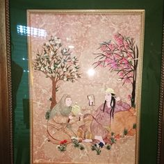 Eser; Gülnur Bayraktar Ebru, minyatür, kaatı....(Sultanların Aynaları Kitabı'ndan Alıntı)