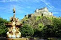 Famous Castles of Scotland | Edinburgh Castle Famous Landmark of Scotland